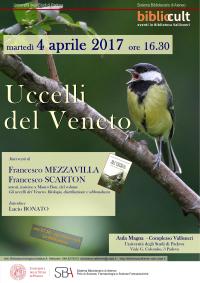 Locandina Uccelli del Veneto