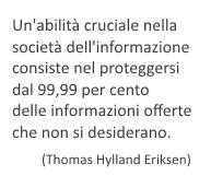 qualita' dell'informazione